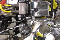 1965-1988 Harley Davidson Fl Fx Fxst Flst Chrome Lever Starter System Shovelhead