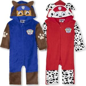 d498a068c327 Paw Patrol Marshall Chase Baby Boys Costume All in One Jumpsuit ...