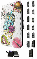 1700 Doctor Who Tardis Case Flip Cover For Samsung Galaxy A3 A5 J3 J5 S6 S7 Edge