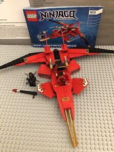 Lego Ninjago Kai Fighter 70721 With Minifigs And Instructions Ebay