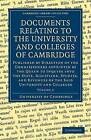 Documents Relating to the University and Colleges of Cambridge: Volume 2: v. 2 by University of Cambridge (Paperback, 2009)