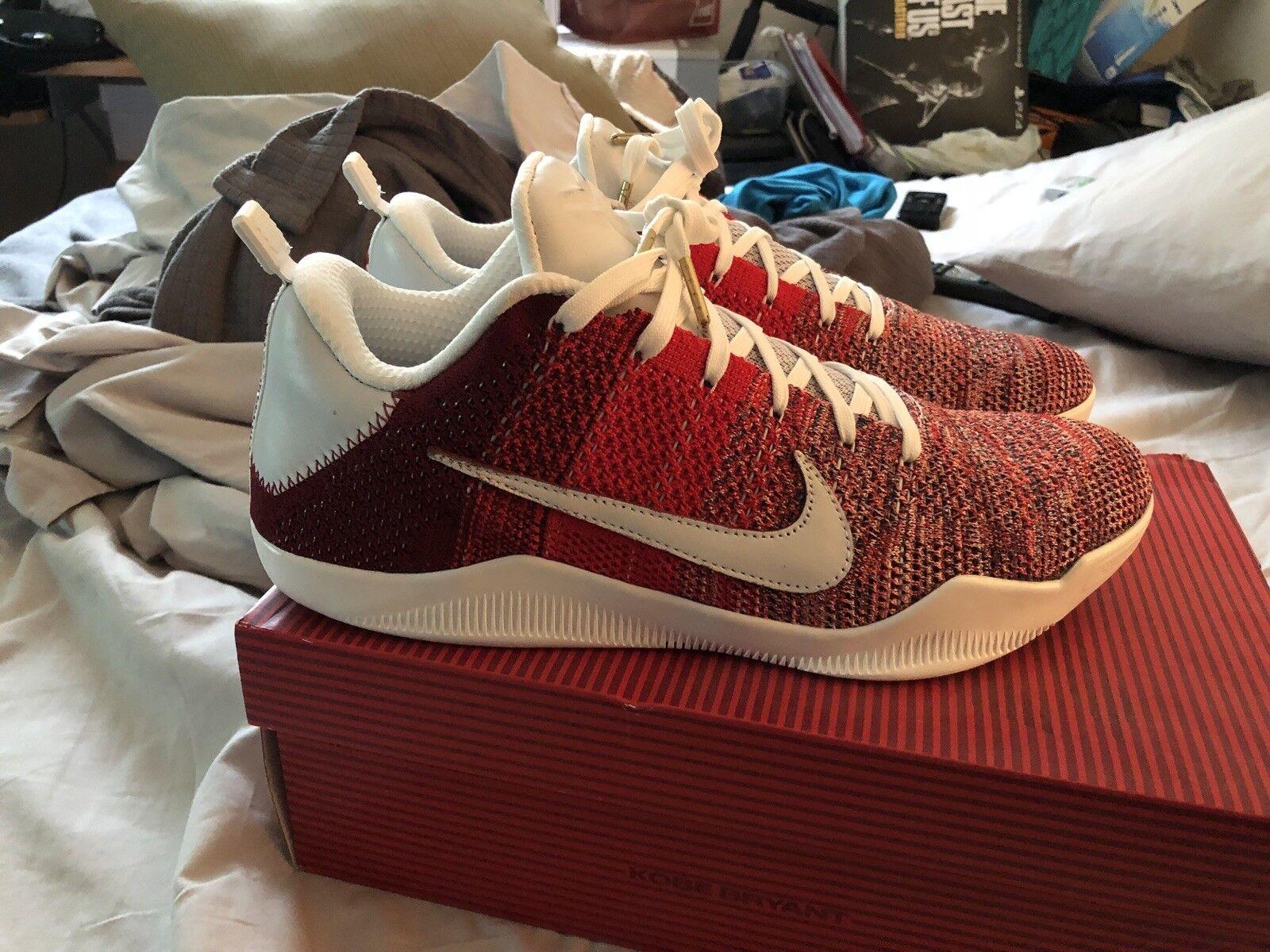 Nike Kobe XI Elite baja rojo 4KB talla caballo rojo baja fa8b57