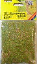 (100g=11,25€) NOCH 08330, Blumenwiesen-Gras, Streugras, 2,5 mm lang, 20 g Beutel