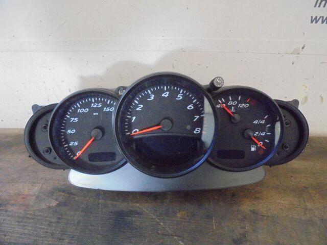 speedometer speedo instrument cluster Porsche Boxster 986 98664120700 2.7 162kW
