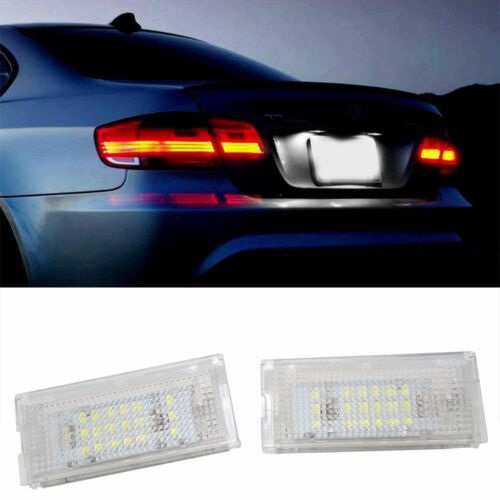 Fit BMW E46 3 series  Error Free License Number Plate Light LED Lamp Bulbs