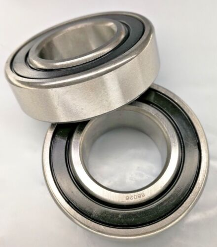 Felt Seals and Chevron Grease Premium New 88026 AG Radial Ball Bearing with 2