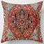 thumbnail 9 - Throw-PILLOW-COVER-Tapestry-Kilim-Rug-Print-Decorative-Soft-Cushion-Case-18x18-034