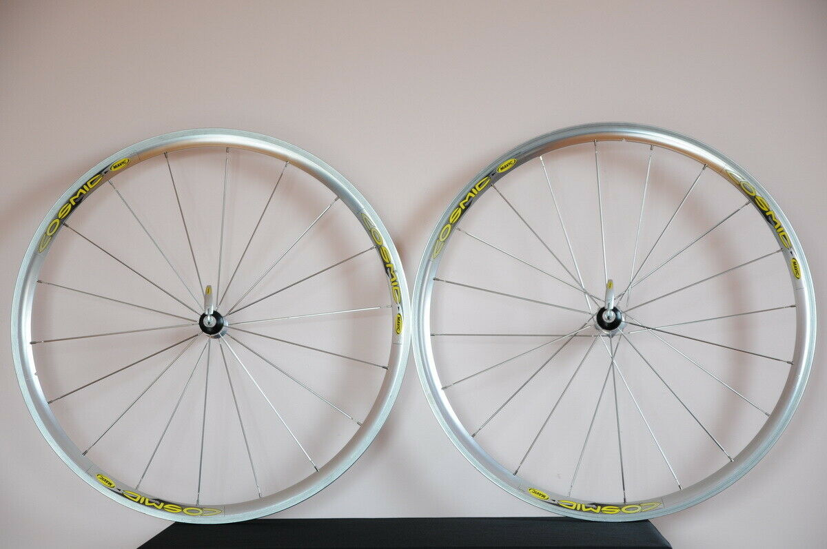 MAVIC cosmic EXPERT road clincher wheelset, 700C wheels, VGC