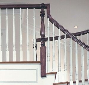 Image Is Loading 2315 Savannah Reeded Stair Parts Inc Poplar Balusters