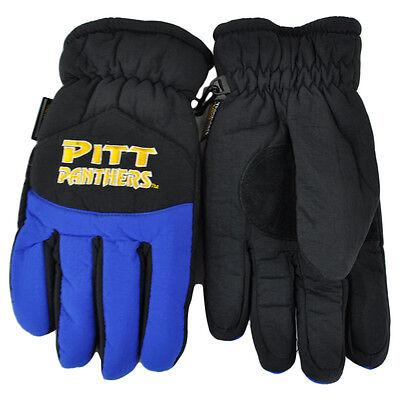 Weitere Ballsportarten Ncaa Pittsburgh Panthers Zweifarbig Winter Schnee Ski Handschuhe Isolierung S/m Lange Lebensdauer