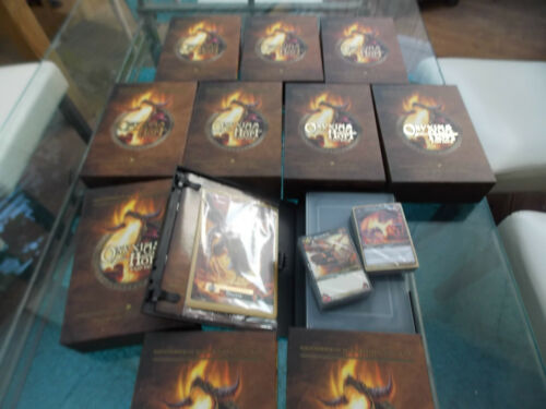 10 x WOW WORLD OF WARCRAFT ONYXIAS HORT RAID DECK SPECIAL EDITION DEUTSCH