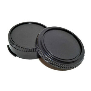 2pcs-Body-Cover-Lens-Rear-Cap-for-CANON-FD-Camera-and-Lens-Protect-Accessory-New