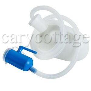 PP-Male-Pee-Urine-Bottle-Collector-2000ml-w-Bucket-amp-Tube-Blue-Milk-White