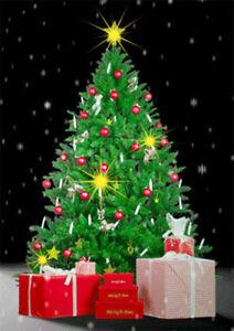Christmas tree animated 3d lenticular postcard greeting card ebay image is loading christmas tree animated 3d lenticular postcard greeting card m4hsunfo