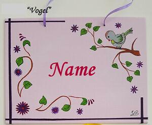 Details zu Namensschild Kinderzimmer acryl for children Mädchen Junge  ORIGINAL