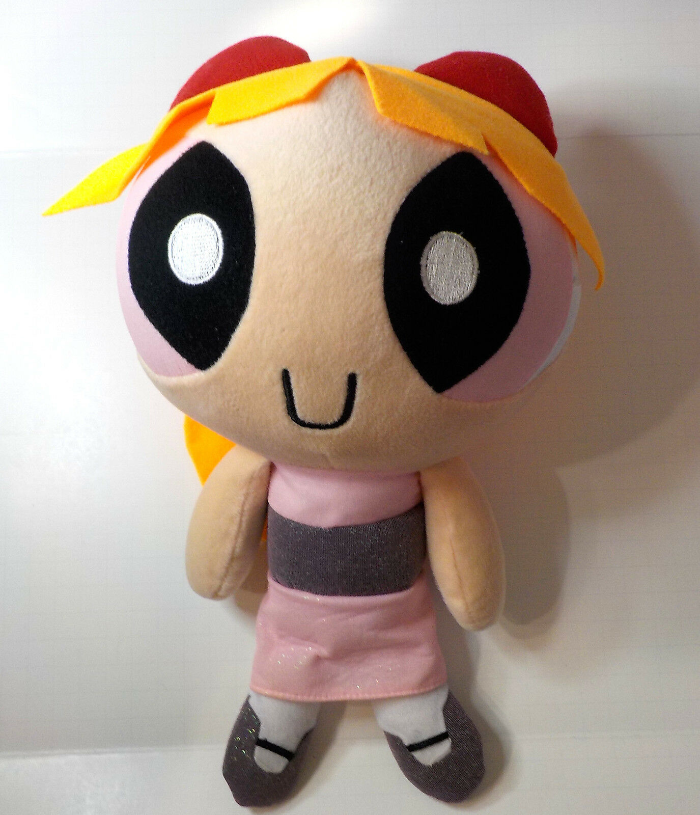 Powerpuff Girls BLOSSOM plush doll w  beans 15    H 4dff58