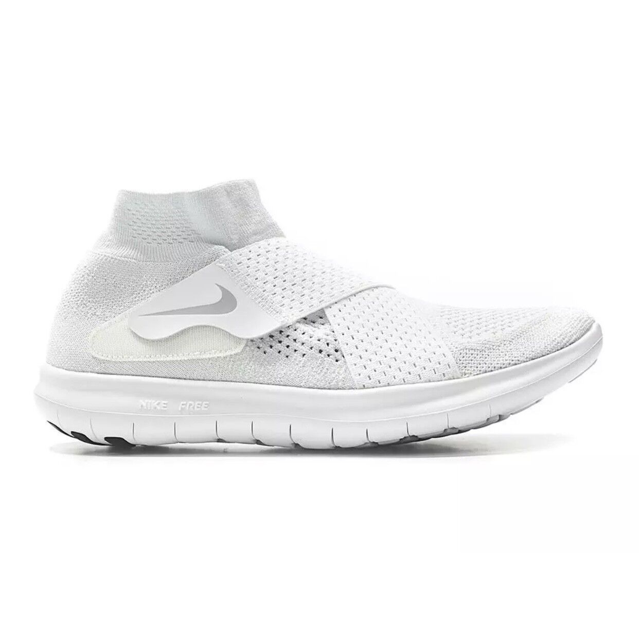 Nike Free RN Motion FK 2017 White Wolf Grey shoes (880845 100) Multi Size
