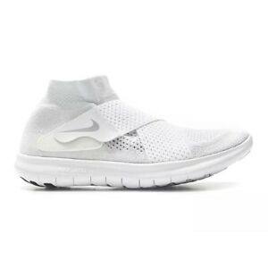 buy online a1658 b2cde Image is loading Nike-Free-RN-Motion-FK-2017-White-Wolf-