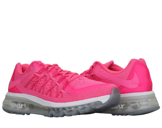 best service 43529 6072e Nike Air Max 2015 (GS) Pink Power WhiteGirls  Running Shoes 705458-