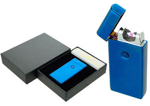 Dual-Arc-Electric-USB-Lighter-Rechargeable-Plasma-Windproof-Flameless-CigaretteB