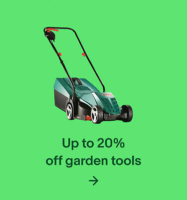 Up to 20% off garden tools