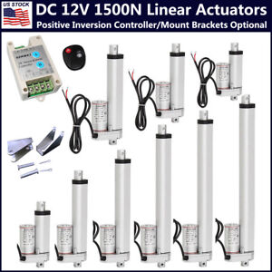 Electric 12V Heavy Duty 1500N Linear Actuator Motors for Auto Door Medical Lift