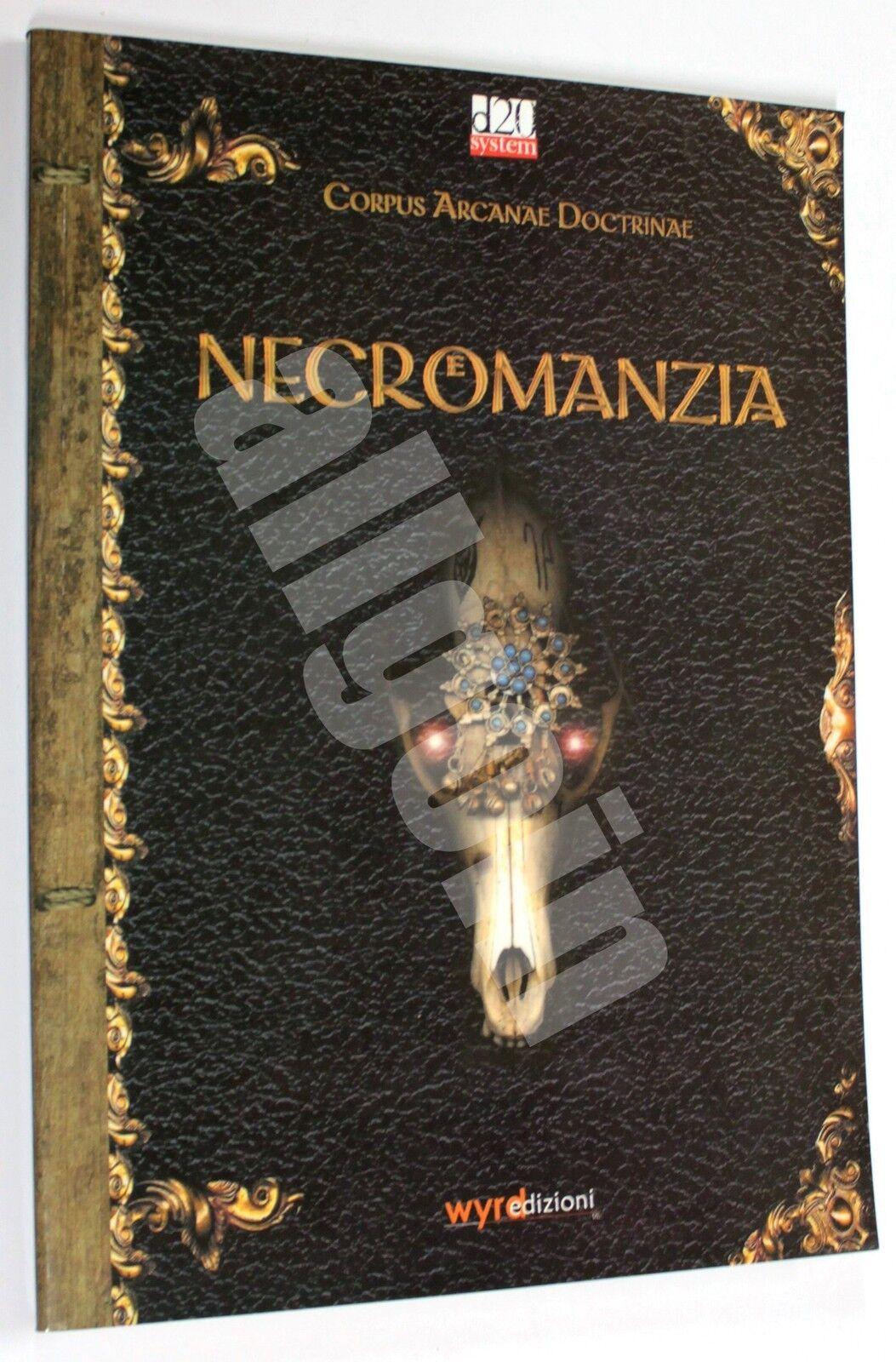 Dungeons & Dragons CORPUS ARCANAE DOCTRINAE NECROMANZIA 2003 Wyrd D&D 3.5 d20