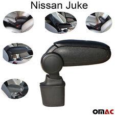 Mittelarmlehne Armlehne Schwarz Leder für Nissan Juke ab 2010 Passform Neu