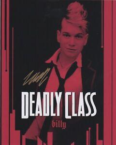 Liam-James-Deadly-Class-Autographed-Signed-8x10-Photo-COA-D8R