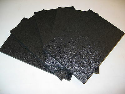 "BLACK ABS MACHINABLE PLASTIC SHEET 5//16/"" X 3.5 /"" X 5.25/"" MATT FINISH"