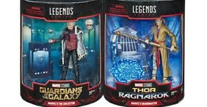 2019-Marvel-Legends-SDCC-GRANDMASTER-amp-COLLECTOR-2-pack-Figures-MINT-MIB-Hasbro