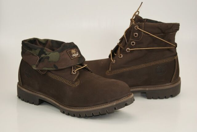 625e6b486373 Timberland Roll Top 6 Inch Boots Lace up Boots Winter Boots Men s Shoes