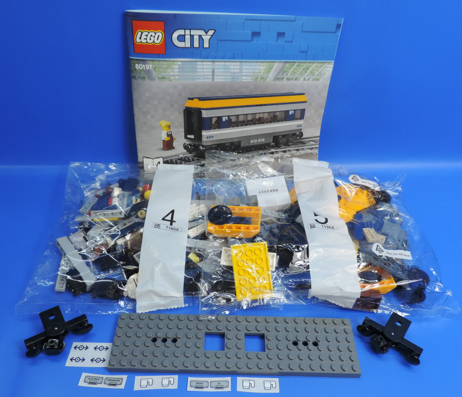 LEGO ® 60197 chemin de de de fer 2x œ Wagon moyens Wagon bordcafé restaurant 8427c5