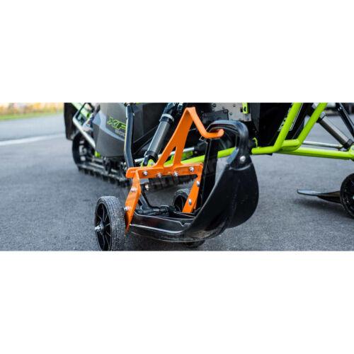 75860 Skisaver Flex Orange Snowmobile Ski Wheel Transport Kit