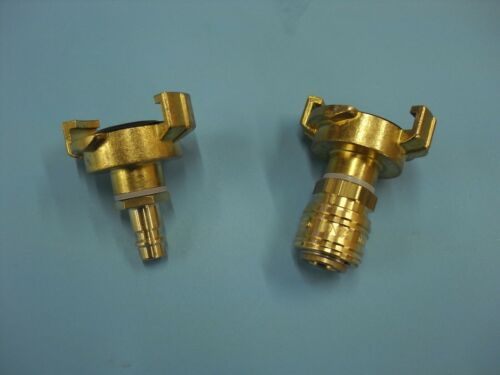 "SALE Set Compressed Air Adapter 3//8/"" Geka with Plug Clutch Air 7.2"