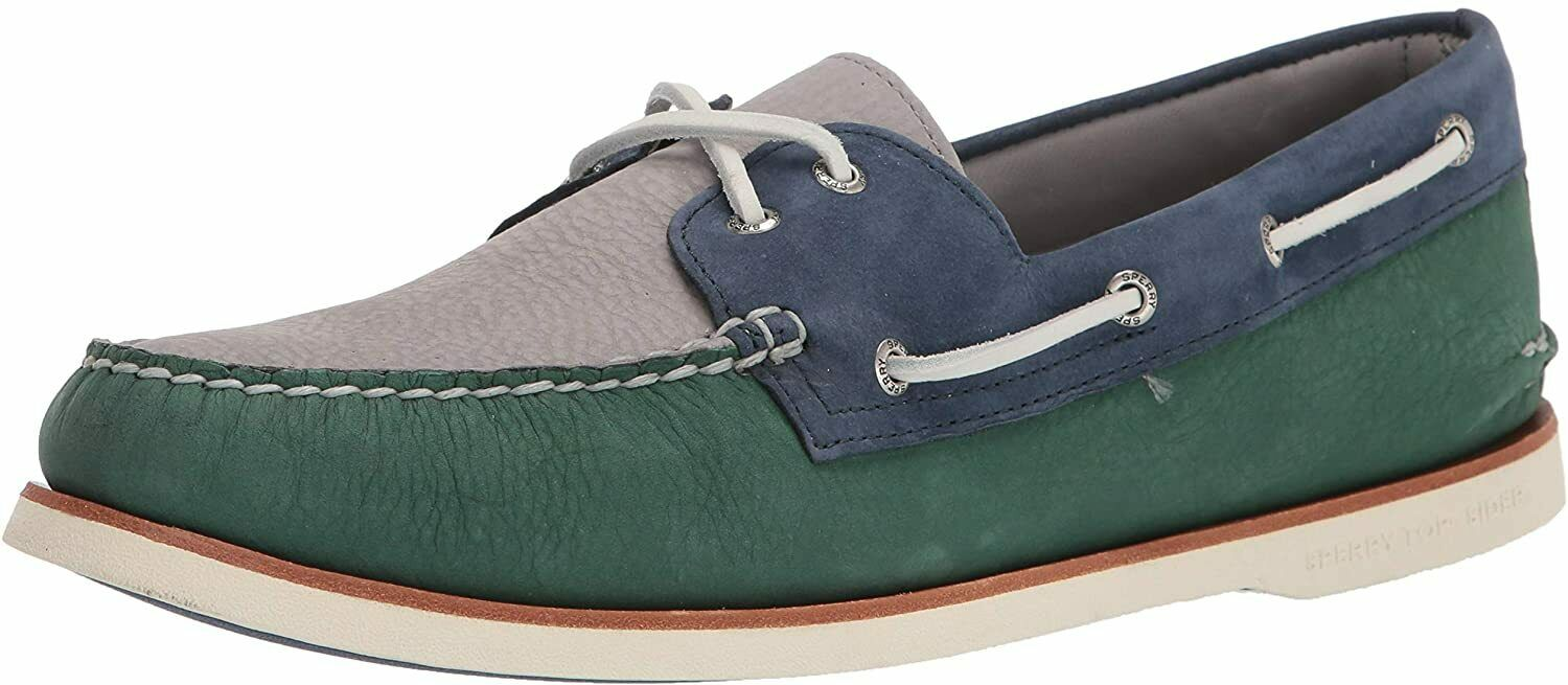 Sperry Men's Gold Cup Authentic Original 2-Eye Boat Shoe Leather Comfort Slip-On