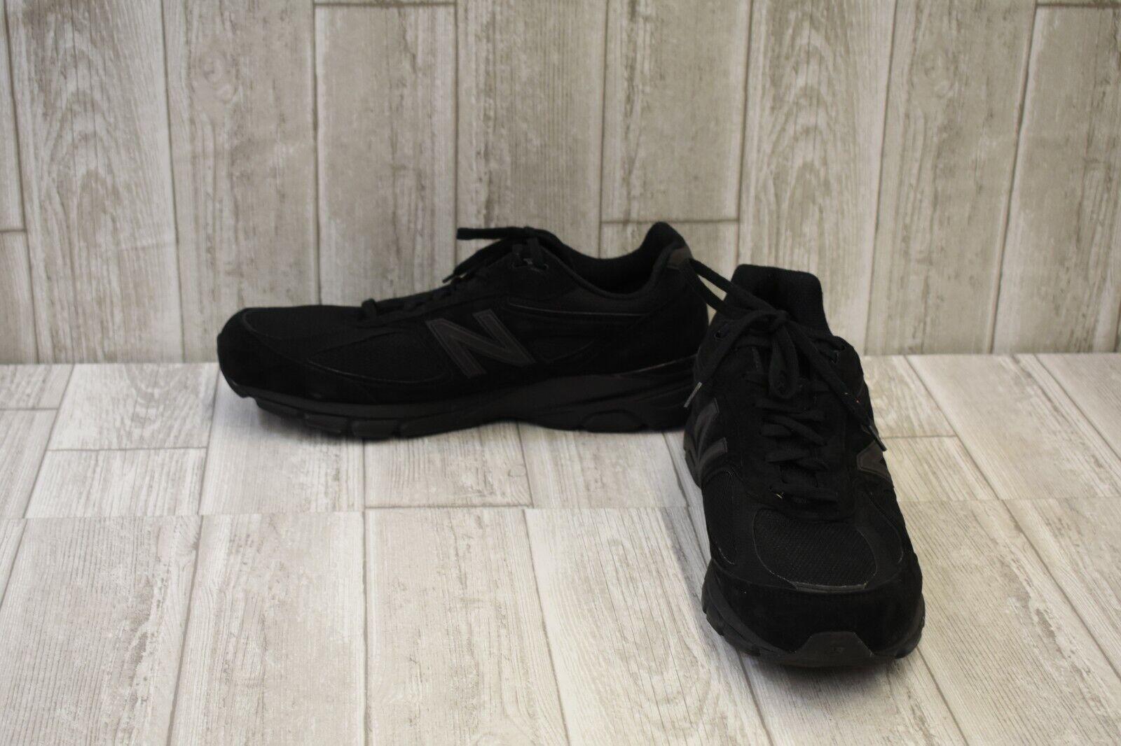 New Balance M990V4 Running shoes - Men's Size 15 (4E) - Black