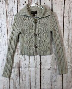 Details about ABERCROMBIE & FITCH Vintage Button Down Cardigan Sweater Womans Size M #t131