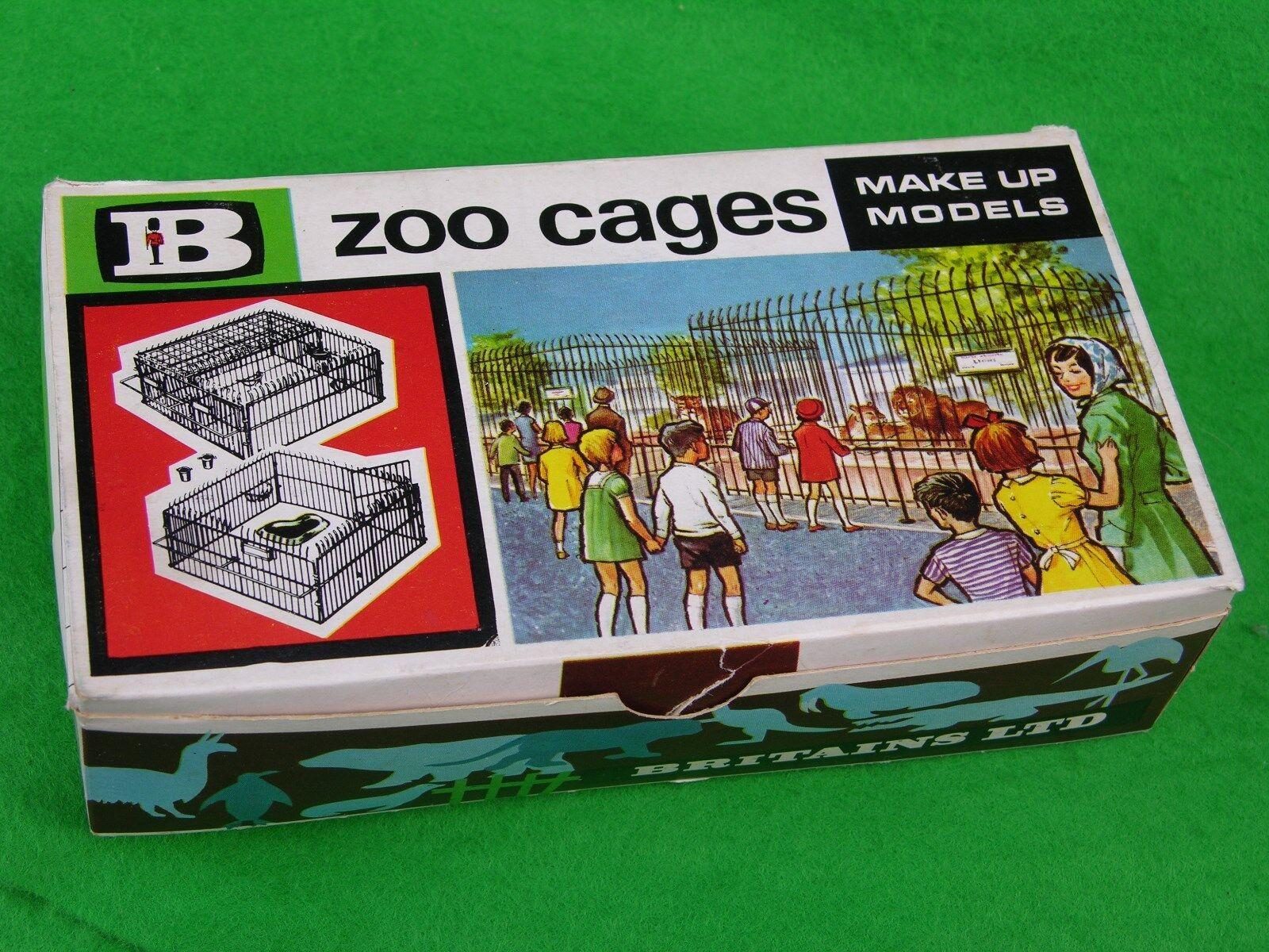 Ligne de joie de Noël (Nouvel Cages An), cadeau d'or grande livraison BRITAINS ZOO Railings, Cages (Nouvel & Boîtiers, multi-annonce 4d21a3