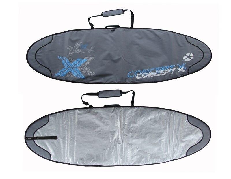 Concept X Boardbag Windsurf Surf Bag Surfbrett Tasche Rocket 258 x 76 cm