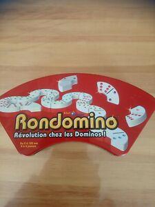 Jeu de Dominos révolutionnaire Rondomino crée par Thierry Denoual 2006