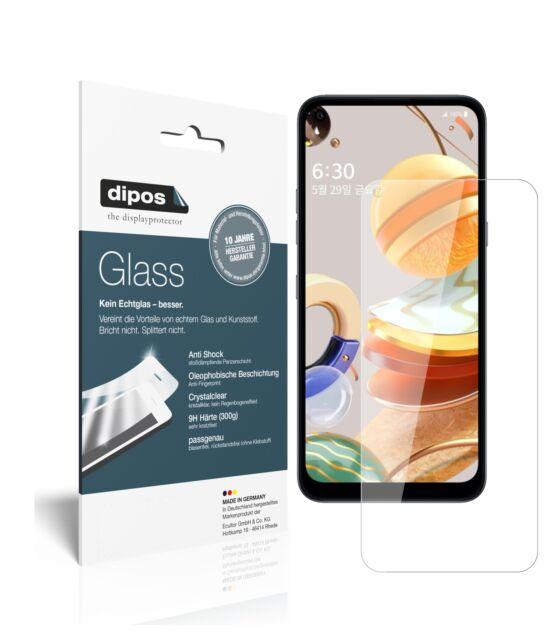 Protector de Pantalla para LG Q61 Vidrio Flexible Cristal Proteccion 9H dipos
