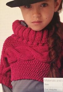 Girls Cropped Jumper  Age 6  16 years  Knitting Pattern - Cannock, United Kingdom - Girls Cropped Jumper  Age 6  16 years  Knitting Pattern - Cannock, United Kingdom