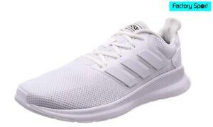 Detalles de Adidas Runfalcon K blancas Zapatillas deportivas running para  Mujer