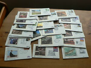 Benham-Silk-GB-First-Day-Covers-1980-1983-Sold-in-Sets-Individually-Small