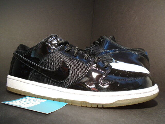 2018 SB Nike Dunk bajo Pro SB 2018 JAM Patente Negro Azul Royal SPACE Blanco 304292021 12 366f99
