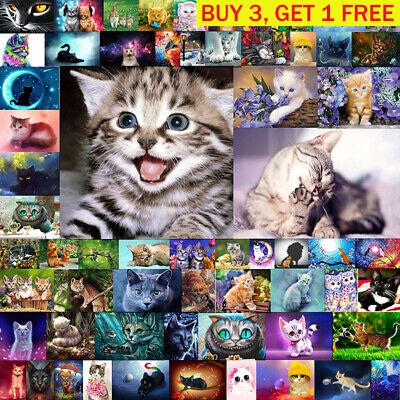 2020 Full Drill 5D Diamond Painting Small Cat DIY Cross Stitch Home Decor Gift
