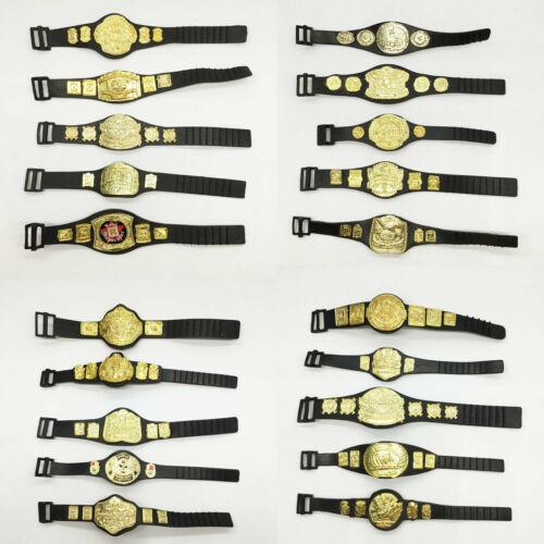 Wholesale 50pcs//lot WWE Championship Toy Belt for wwe 7 inch Action Figure
