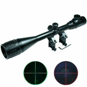 6-24x50-AOEG-Hunting-Rifle-Scope-Red-Green-Mil-dot-illuminated-Optical-Gun-Scope
