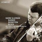 Vadim Gluzman Plays Barber, Bernstein & Bloch Super Audio Hybrid CD (CD, Nov-2009, BIS (Sweden))